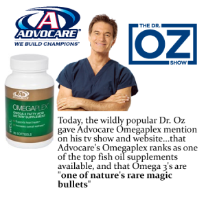 Dr.Oz and OmegaPlex