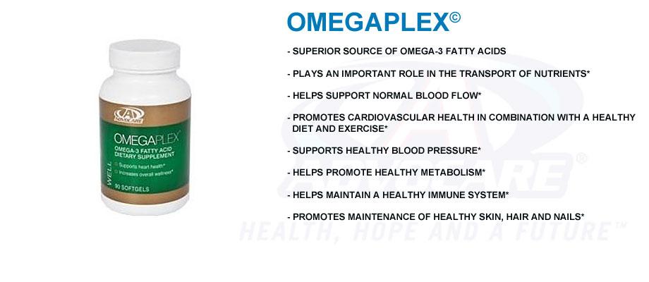 Advocare's Omegaplex